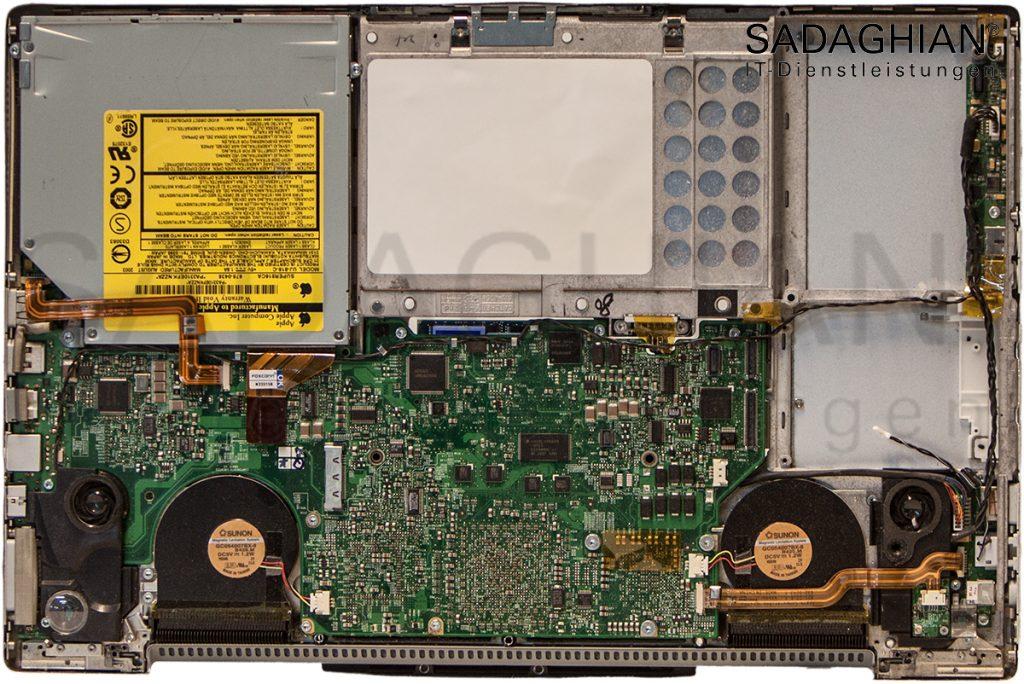 Festplattenausfall bei MacBook Pro 2006