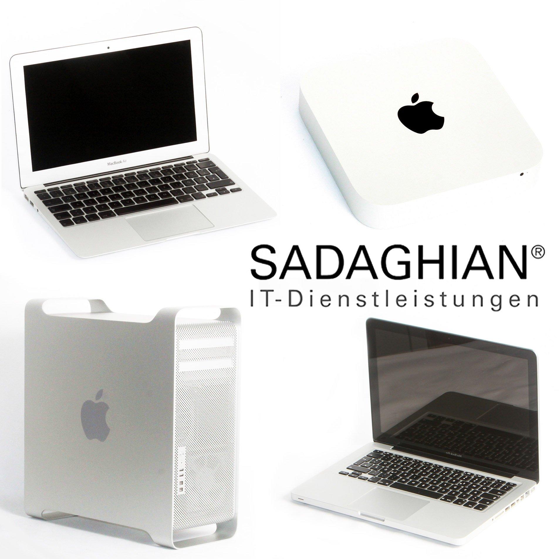 Sadaghian IT-Dienstleistungen Mac-Reparatur Werkstatt