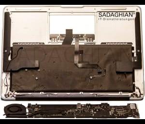 Wasserschaden Katastrophe – MacBook Pro ist in die Badewanne gefallen!