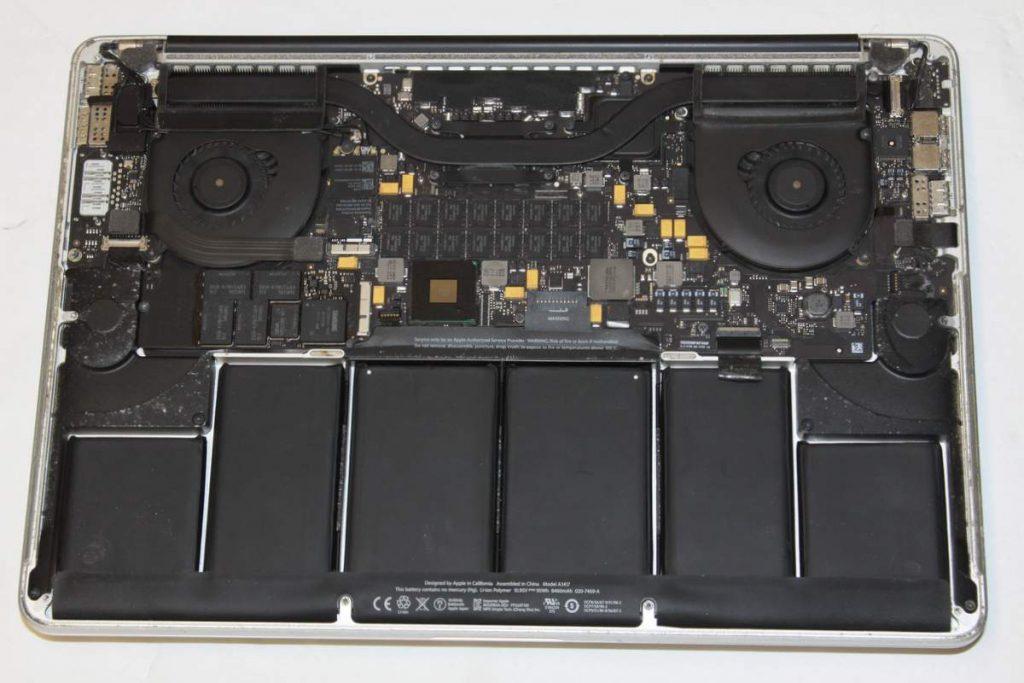 MacBook lädt nicht.