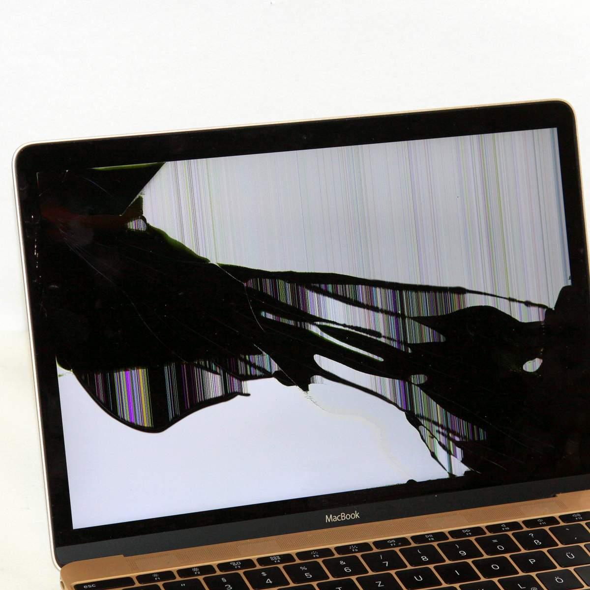 MacBook Displayschaden Reparatur