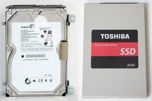 HDD und SSD