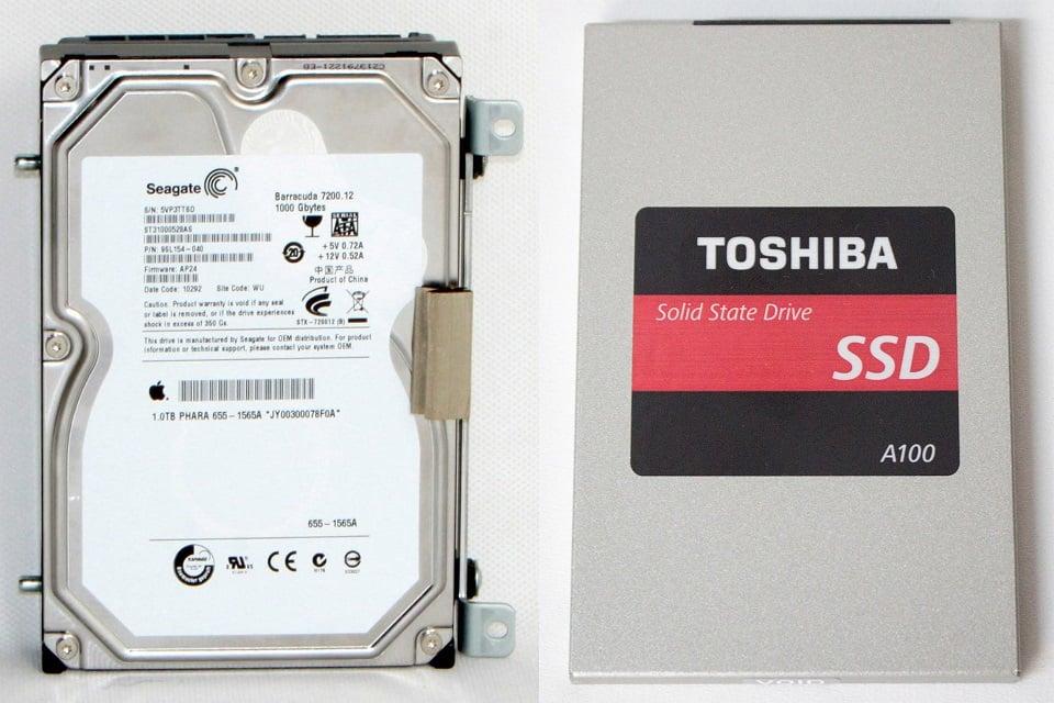 Was ist der Unterschied zwischen einer HDD und einer SSD-Festplatte?