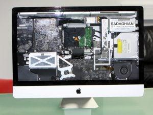 iMac – laute Lüfter, Display-Streifen!