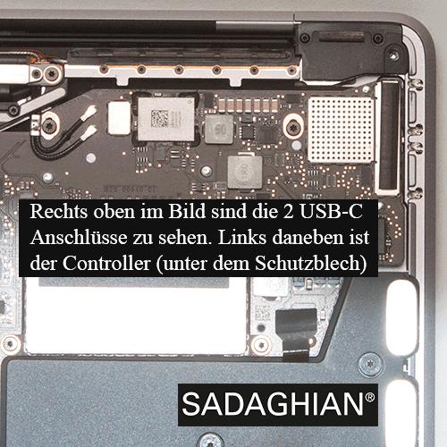 Defekte USB-C-Anschlüsse