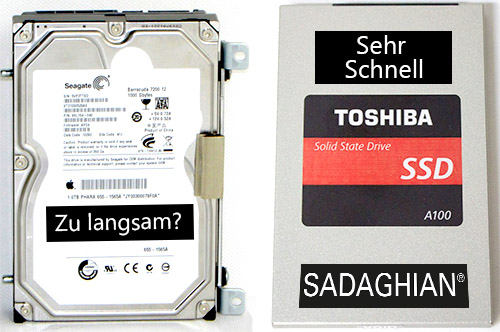 What's the difference between a HDD and a SSD hard drive?