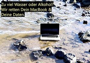 Flüssigkeitsschäden am MacBook