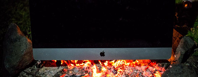 iMac Grafikreparatur bei heißem iMac