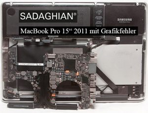 Grafikfehler an MacBook Pros