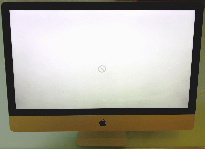 Er bootet nicht richtig, der Bildschirm friert ein oder der iMac hängt sich beim Hochfahren au