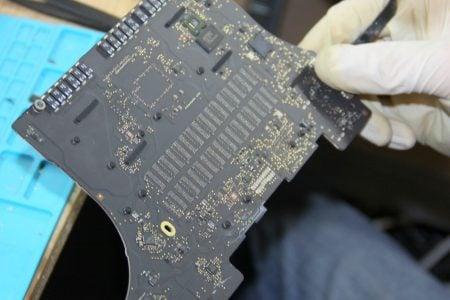 MacBook Pro Retina 2012 mit defektem grafikkarte und RAM