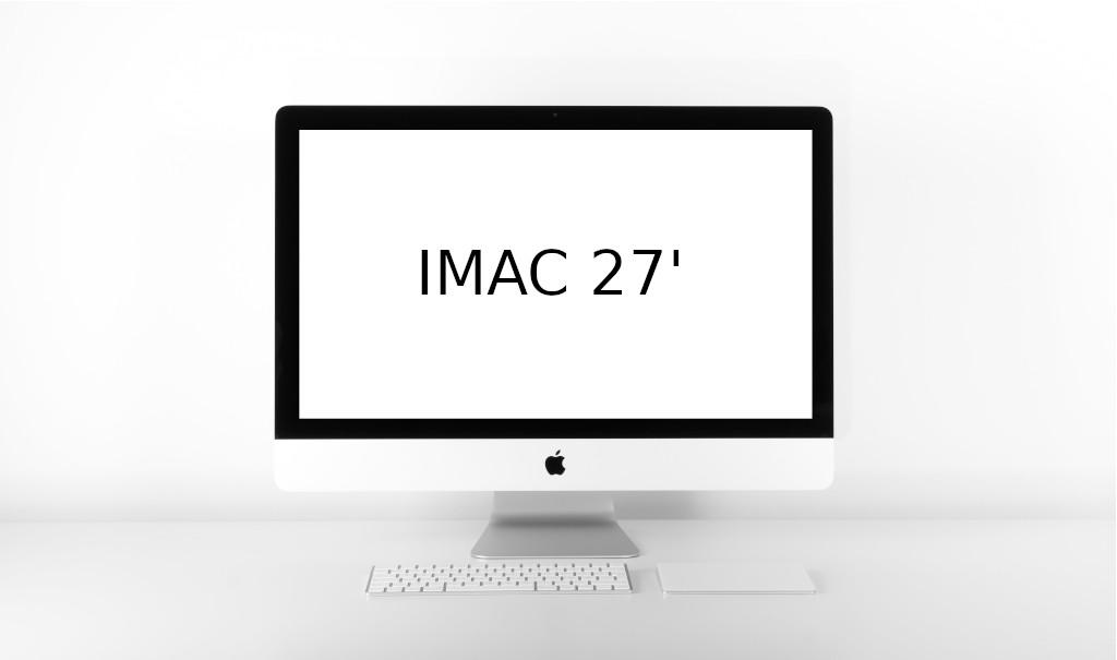 Apple iMac 27 zoll Reparatur in Hamburg