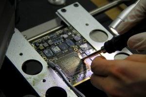 iMac Grafikkarte ohne das Grafikchipsatz. iMac Grafikfehler, Grafikkarte Reparatur in Hamburg