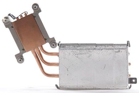 Apple iMac 21,5 Zoll - Late 2011 - A1311 Prozessor CPU Kühler Heatsink Hinten