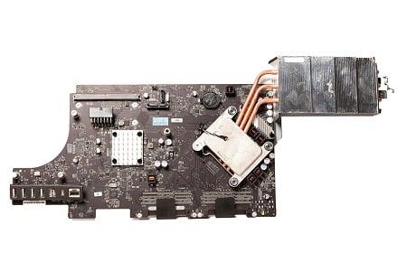 Apple iMac 27 Zoll - Mid 2011 - A1312 Logicboard CPU Reparatur