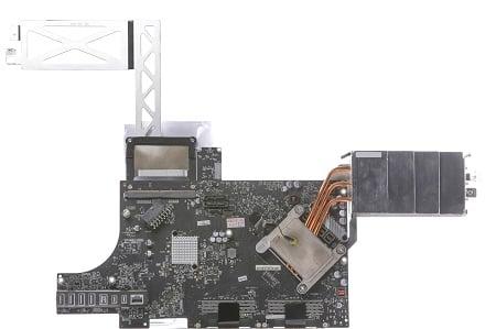 Apple iMac 27 Zoll - Mid 2011 - A1312 MainBoard LogicBoard Vorne