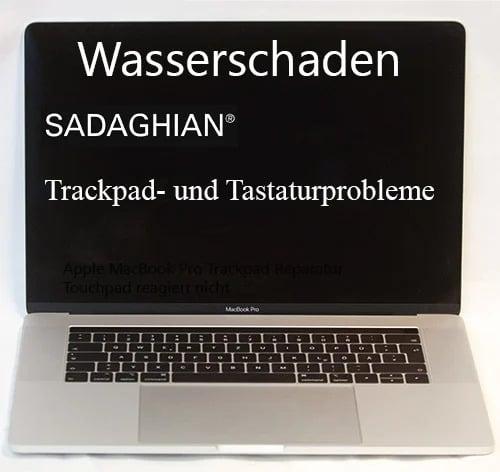 Wasserschaden Apple MacBook-Pro-15-Touchbar Tastatur Reparatur