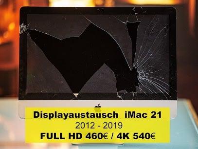 Displayaustausch iMac 21 2012 2019
