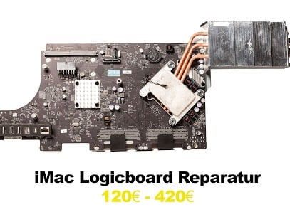 iMac Logicboard Reparatur 120 - 420