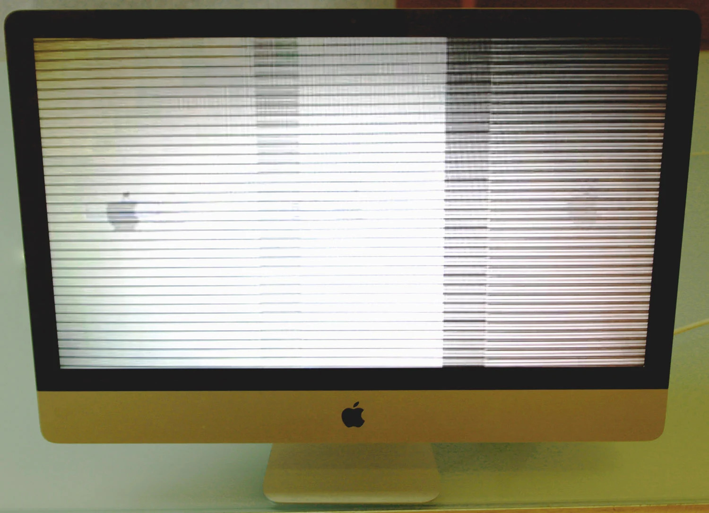 iMac graphic failure repair